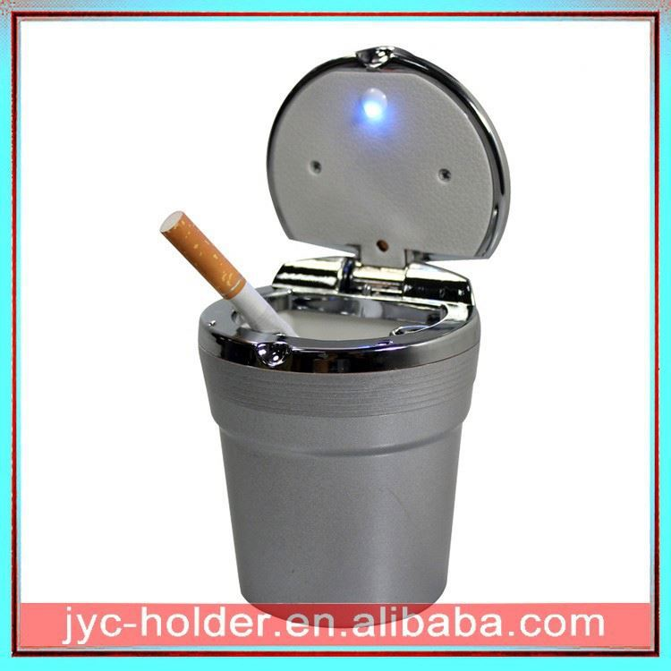 cigar ashtray ,H0T022 windproof smokeless car ashtray , ashtray butt bucket
