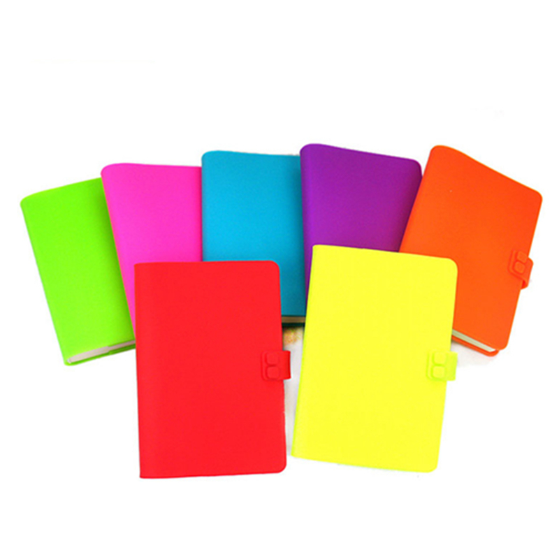 More anf more popular customized colorful silicone book cover,silicone notebook slipcase