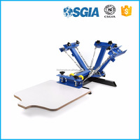 silk screen press 1 color /running printing table