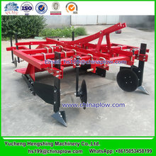 Agriculture implement plastic mulch laying machine for tractor