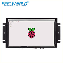 High Brightness IPS panel 5 wire resistive 10.1'' open frame Touch Display surveillant lcd monitor