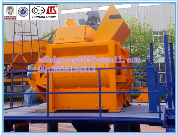 CCC/ISO/CE approved simple concrete batching mechine 2HZS60 concrete plants