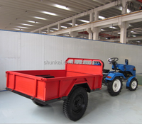 Hot-sale mini farm tractor trailer from chinese Manufacturers