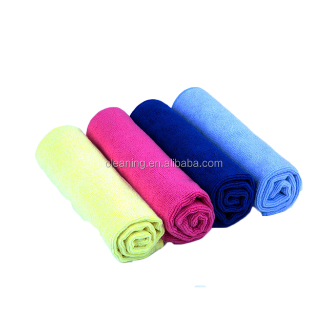 Top quality 70 polyester 30 polyamide 3m microfiber cleaning dusting cloths