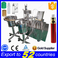 Lowest price automatic perfume filling machine,10ml oil filling capping labeling machine
