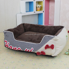 Custom wholesale bottom price princess butterfly knots cat beds with door
