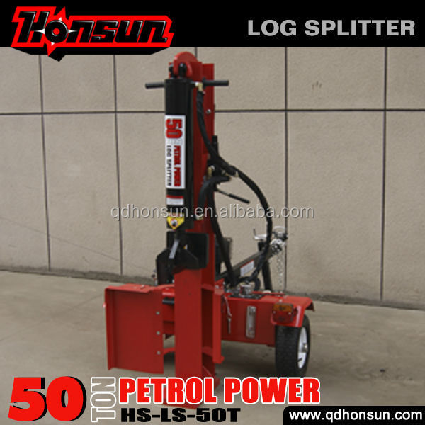 With adopt advanced equipment 13hp Honda petrol engine how to make a wood splitter
