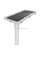High tech patent design outdoor 20W all in one integrated led solar street light with photo cell with CE rosh approval
