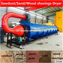 Industrial Price Small Sludge Chicken Manure Wood Chip Shaving Coconut Copra Sawdust Sand Rotary Drum Dryer Machine For Sale