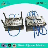 custom made precision injection plastic mold long life cycle