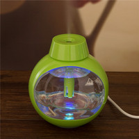 2016 Glass Mini Usb Humidifier With Changeable led light