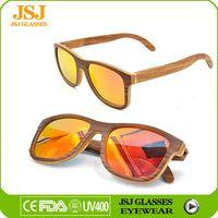 100% Handmade Bamboo And Wood Wholesale Sunglasses China