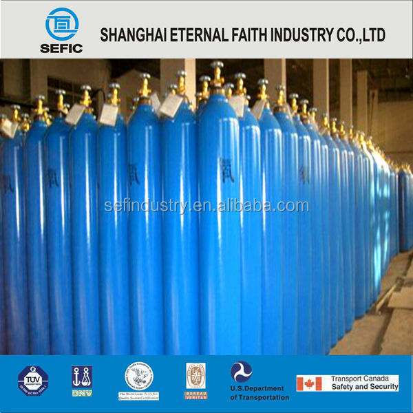 2015 Latest Style Swimming Used CNG Tank Filling Oxygen Gas Cylinder