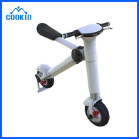 Portable Outdoor Courtyard Quickly Folding in Car Trunk Electric Scooter Electric Bicycle E Bike