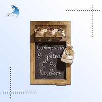 wooden children chalkboard for sale, new style wooden mini chalkboard,wall mounted blackboard