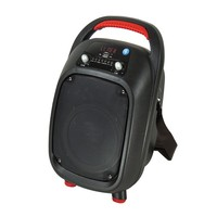 Mini Portable Trolley Speaker Wireless Outdoor Studio Bluetooth Speaker Portable Speaker Handle With Light