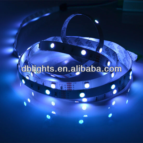 RGB changing color led strip for clothes