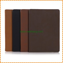 Ancient style wallet PU leather stand tablet case with card slots for iPad Air2