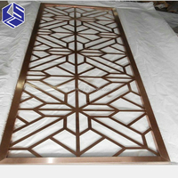 Decorative Stainless Steel Partition Screens Indoor