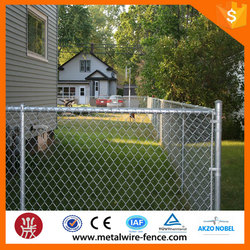 Hot dip galvanized chain link wire mesh fence/chain link wire netting