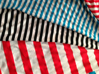 polyester rayon spandex stripes fabric / tr fabric / poly rayon fabric