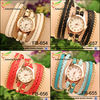 new design 2015 fashion bracelet leather watch