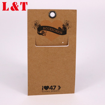 Fashionable Customized Kraft Paper Hang Tag