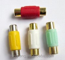 RCA Female to RCA Female Connector hot export product