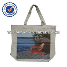 Durable using low price canvas tote bag