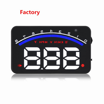 Hot Sell M6 Car HUD Head Up Display With Low Voltage Alarm