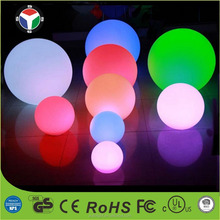 30cm Outdoor/indoor Waterproof Rechargeable Flat Ball LED Pool &Lawn Light With16 Color Changing Mood Lamp and Remote Control