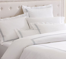 hotel white cotton life sheet sets