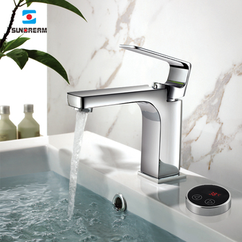 Electronic Controller Mixer for Washbasin Taps