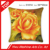 hot selling golden rose 100% cotton 50*50cm cushion cover with wholesale price
