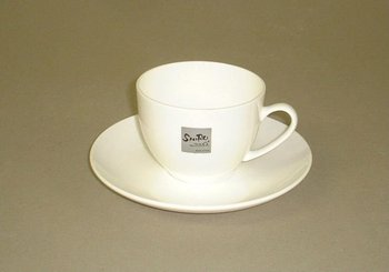 Bone China Shiro cups and saucers