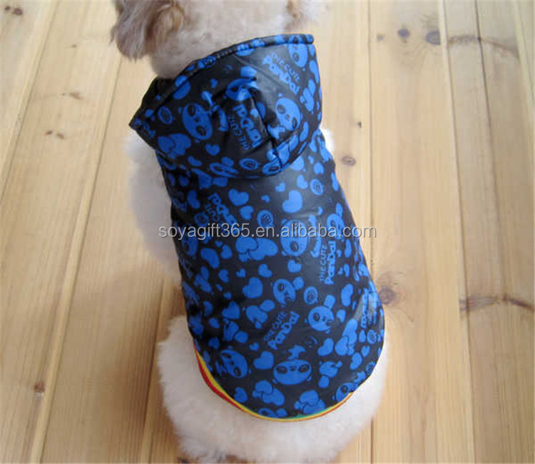 Soft Winter Warm Pet Dog Clothes Cozy Snowflake Costume Clothing Jacket Hoodie