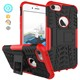 Waterproof shockproof plastic smartphone case dazzle back cover for iphone 7