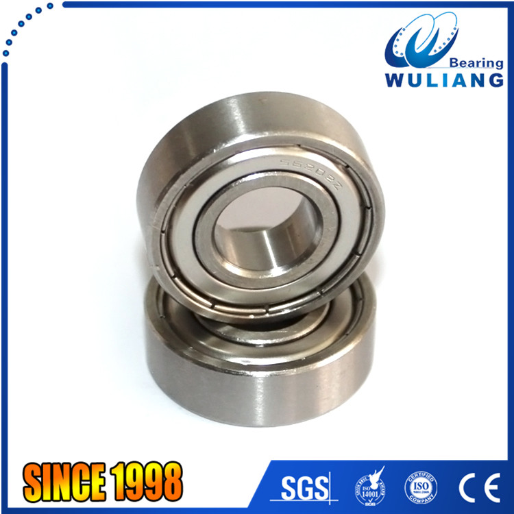 304 stainless steel s6202zz 15mm x 35mm x 11mm motorcycle wheel bearing