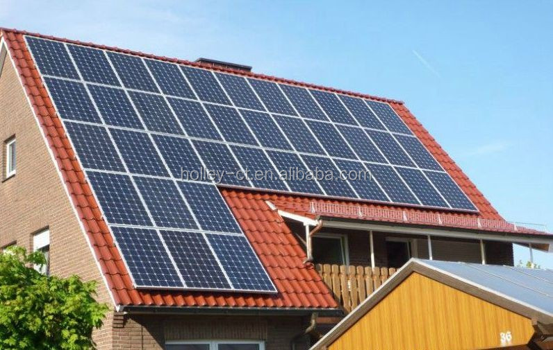 Factory price for On-grid solar energy system 5kW with whole accessories