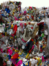 Pet bottle scrap in bale 250ml-350ml with different color