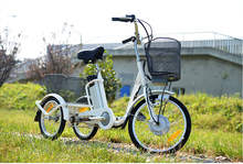 250W economic electric tricycle for adults in china