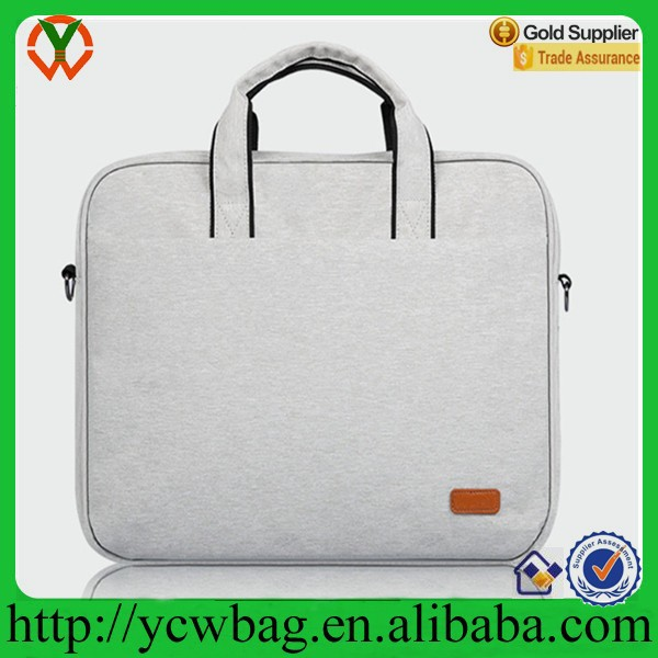 Unisex fashion hand carry laptop bag/laptop trolley bag