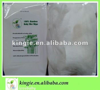 biodegradable bamboo wet wipe, face wipe, hand wipe,cleaning wipes
