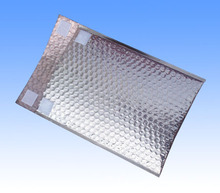 colorful bubble wrap mailer envelopes aluminum foil thermal insulation bags for CD or record