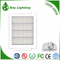 110w Industrial Ceiling LED Canopy Light Fixtures Aluminum Gas Station Light Cover