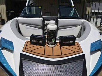 Ceramic Pro protective coating for boat