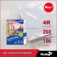 Koala Inkjet RC photo paper, waterproof RC glossy / silky photo paper