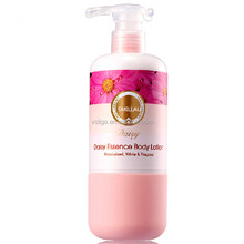 OEM Newest daisy moist whitening natural honey SPA essence flavour body lotion 250ml