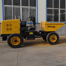 2tons 4WD high quality cheap volvo dumper