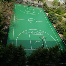 Outdoor Basketball PVC Sports Flooring